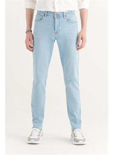 Avva Erkek Slim Fit Jean Pantolon A11Y3508 Mavi